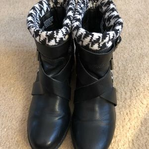 MUDD houndstooth 🐾🐾 ankle booties! Sz. 6.5